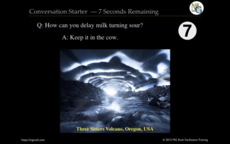 Conversation Starter Ten Minute Break Timer